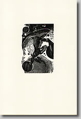 Peter Lazarov / Four wood engravings / The Titan