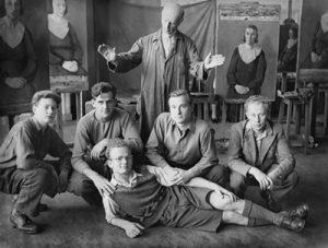 Wegner-afstudeergroep-1947