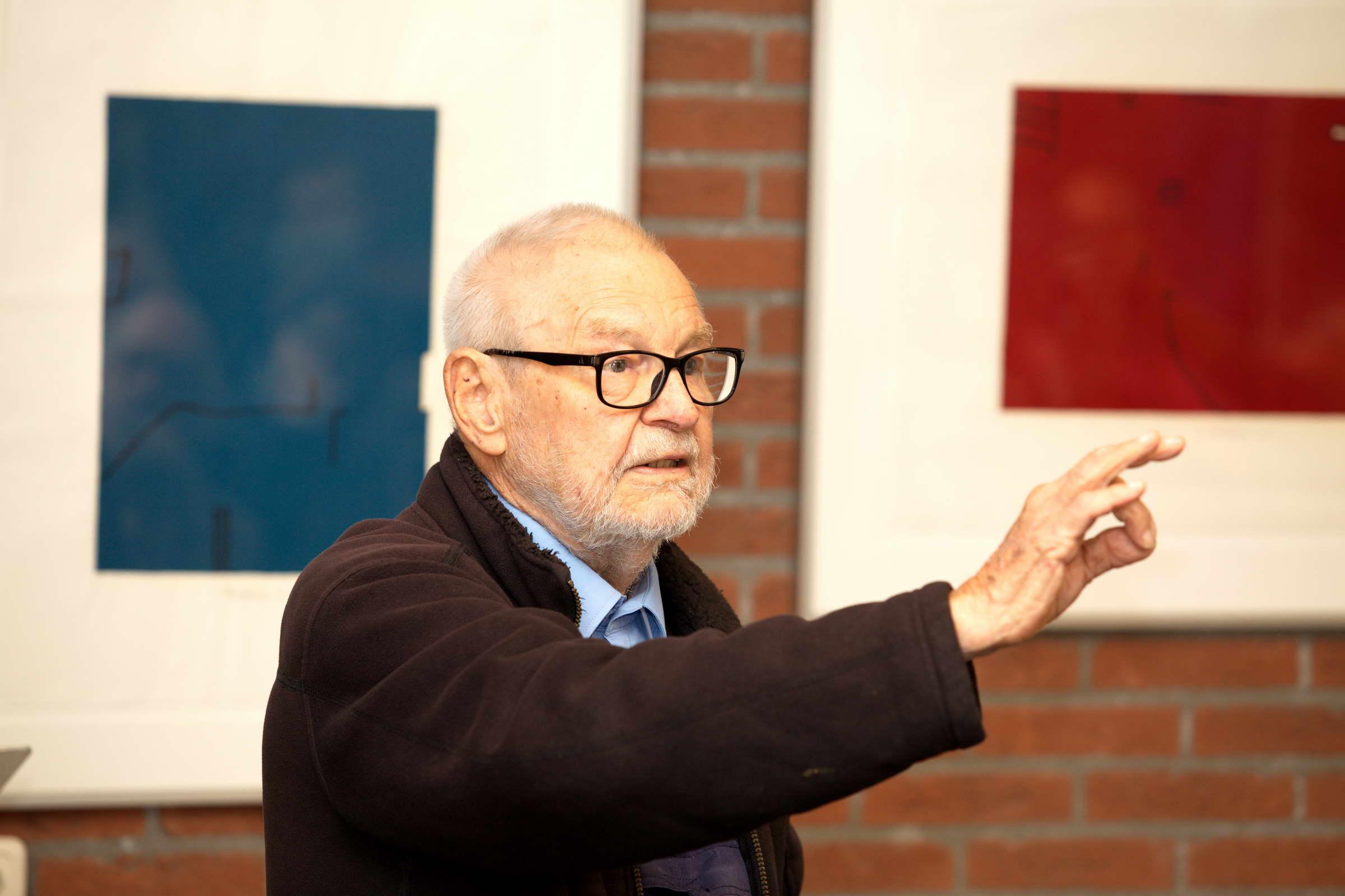 Wim Zwiers (1922-2019) in Fochteloo 2017