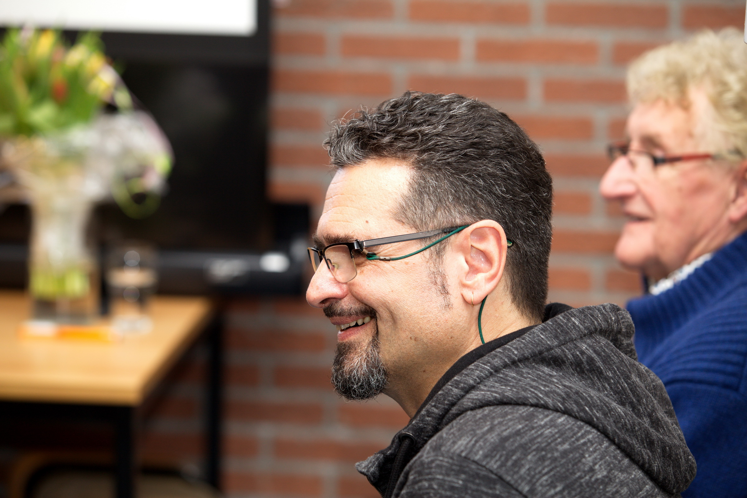 Peter Lazarov en Johan Veenstra verzorgen openingsprogramma Culturele Hoofdstad in Fochteloo 26 januari 2018.