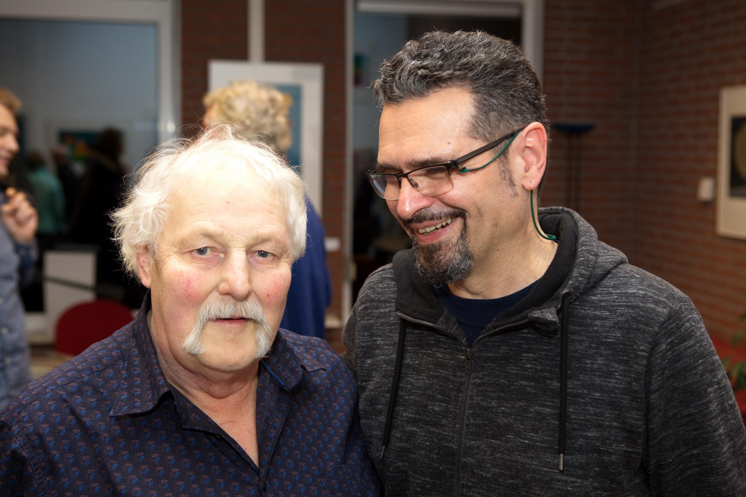 Anne de Vries, de journalist die in 1991 voor het eerst aandacht schonk aan de prentkunstenaar Peter Lazarov te gast op 26 januari 2018.