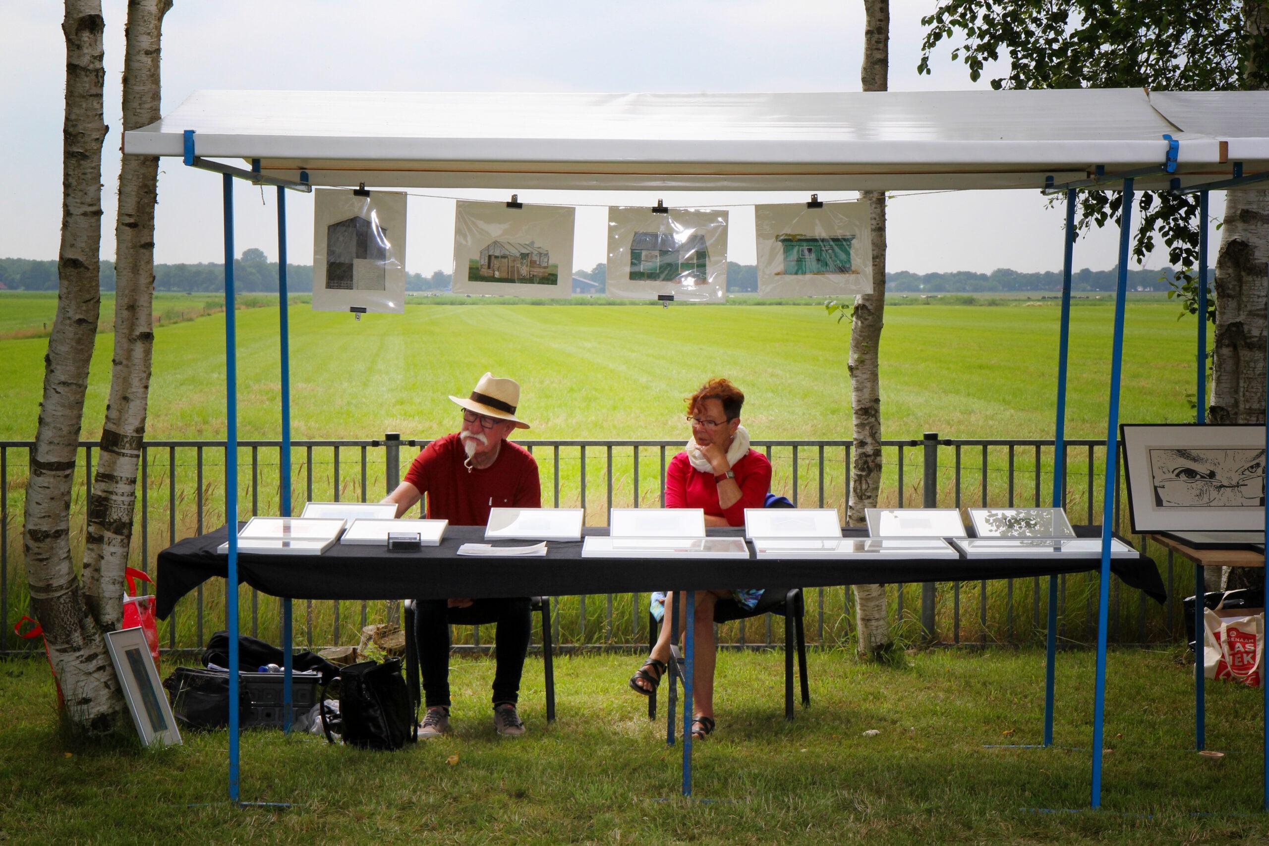 Meint van der Velde en Wijke van der Bij
